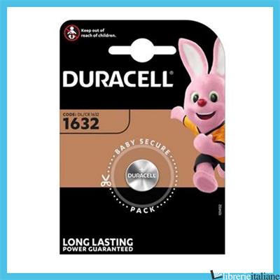 - CR1632 DURACELL -
