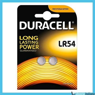- LR54 DURACELL -