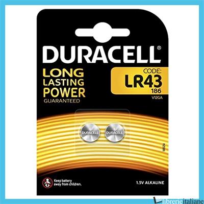 - LR43 DURACELL -