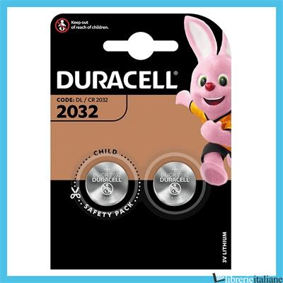 - 2032 DURACELL CONFEZIONE DOPPIA -
