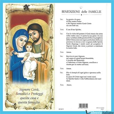 - 209/9 BENEDIZIONE CASA --> SACRA FAMIGLIA -