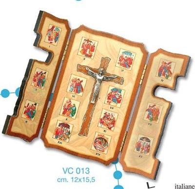 - VC013 VIA CRUCIS TRITTICO - VIA CRUCIS