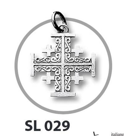 - SL029 CROCE ARG. JERUSALEM G 2,2X2,2 -
