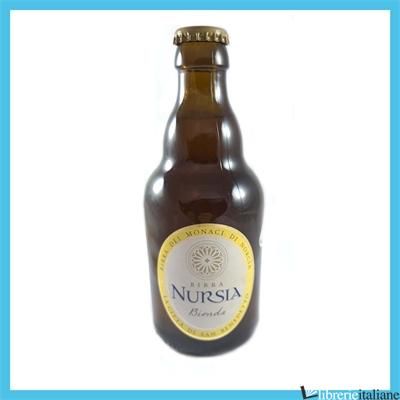 - BIRRA NURSIA BIONDA 33CL -