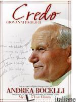 - CREDO GIOVANNI PAOLO II - BOCELLI ANDREA