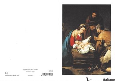 - HC9085 - ADORAZIONE DEI PASTORI - BARTOLOME' E. MURILLO