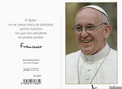 - JA0257 SPA PAPA FRANCESCO 7X10,5 -