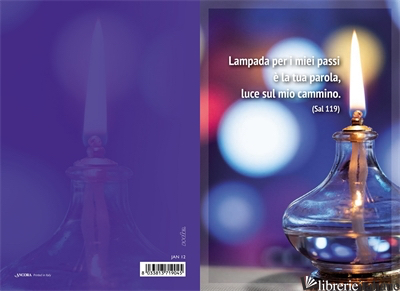 - JAN12 LAMPADA PER I MIEI PASSI... - L.O.