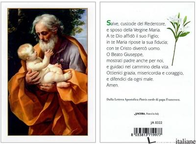 - JA0322 SAN GIUSEPPE - GUIDO RENI SANTINO -