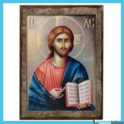 - PAP3 CRISTO 20X28 CM LIBRO APERTO -