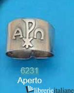 - 6231 ANELLO ARGENTO E DORATO VESCOVO - ANELLO