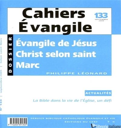 EVANGILE DE JESUS SELON SAINT - AA.VV.