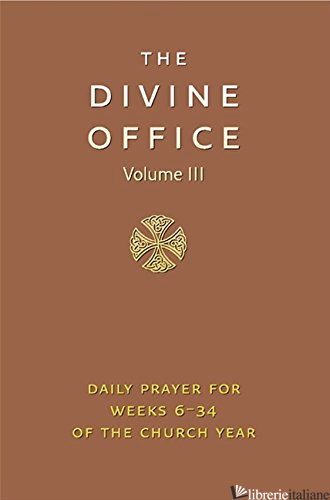 DIVINE OFFICE VOLUME 3 LTH - AA.VV.