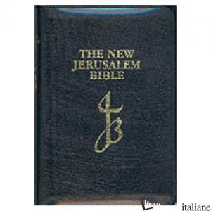NEW JERUSALEM BIBLE LEATHER BLACK - AA.VV.