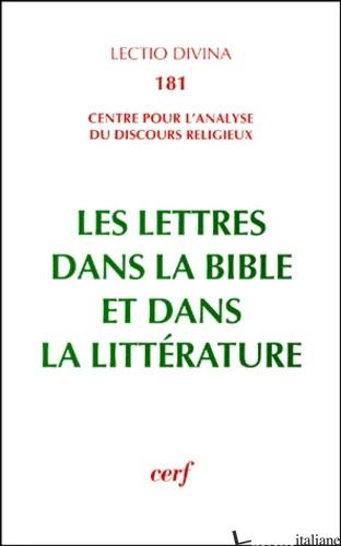 LETTRES DANS LA BIBLE ET DANS - AA.VV.