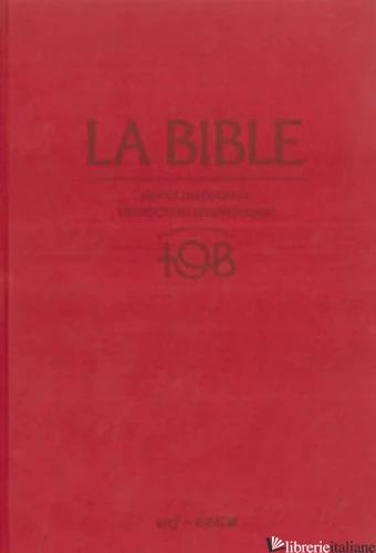BIBLE TOB NOTES INTEGRALES COFFRET RELIE ROUGE 8290379 - AA.VV.