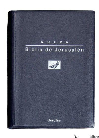 BIBLIA DE JERUSALEN MOD.0 BOLS/ PLASTICO. NUEVA EDIC. - ESCUELA BIBLICA