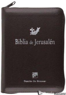 BIBLIA DE JERUSALEN FORRO BORDO ARGENTATO CREMALLERA - AA.VV.