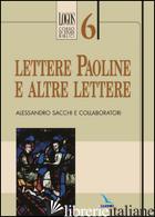 LETTERE PAOLINE E ALTRE LETTERE - SACCHI ALESSANDRO