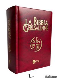 BIBBIA DI GERUSALEMME. EDIZIONE TASCABILE PER I GIOVANI (LA) - SCARPA M. (CUR.)