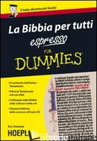 BIBBIA PER TUTTI ESPRESSO FOR DUMMIES (LA) - DENIMAL ERIC; JUGOVAC P. (CUR.)