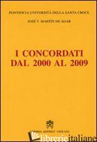 CONCORDATI DAL 2000 AL 2009 (I) - MARTIN DE AGAR J. TOMAS