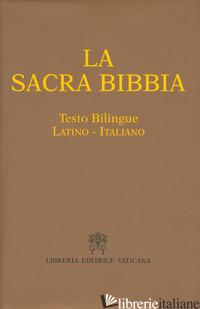 SACRA BIBBIA. TESTO LATINO A FRONTE (LA) - FREZZA F. (CUR.)