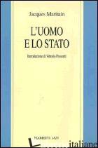 UOMO E LO STATO (L') - MARITAIN JACQUES