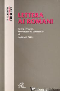LETTERA AI ROMANI - PITTA ANTONIO