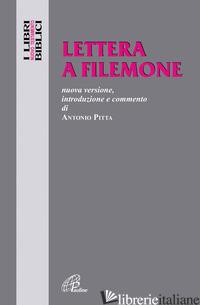 LETTERA A FILEMONE - PITTA ANTONIO