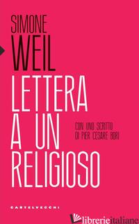 LETTERA A UN RELIGIOSO - WEIL SIMONE
