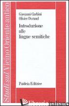 INTRODUZIONE ALLE LINGUE SEMITICHE - GARBINI GIOVANNI; DURAND OLIVIER