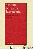 APOCRIFI DELL'ANTICO TESTAMENTO. VOL. 3 - SACCHI P. (CUR.)