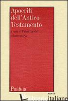 APOCRIFI DELL'ANTICO TESTAMENTO. VOL. 4 - SACCHI P. (CUR.)