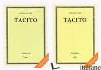 TACITO - SYME RONALD; BENEDETTI A. (CUR.)
