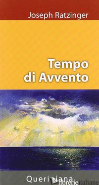 TEMPO DI AVVENTO - BENEDETTO XVI (JOSEPH RATZINGER)