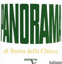 PANORAMA DI STORIA DELLA CHIESA - MONTJUVIN JACQUES; FRANCESCONI G. (CUR.)