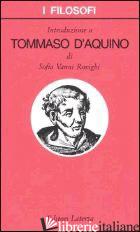 INTRODUZIONE A TOMMASO D'AQUINO - VANNI ROVIGHI SOFIA