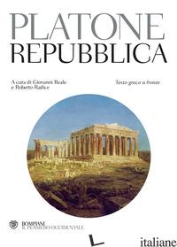 REPUBBLICA. TESTO GRECO A FRONTE (LA) - PLATONE; REALE G. (CUR.)