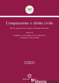 COMPARAZIONE E DIRITTO CIVILE (2021). VOL. 2 -
