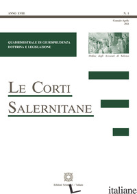 CORTI SALERNITANE (2021) (LE). VOL. 1 -