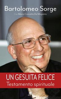 GESUITA FELICE (UN) - SORGE BARTOLOMEO