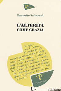 ALTERITA' COME GRAZIA (L') - SALVARANI BRUNETTO