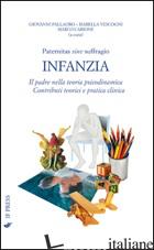 PATERNITAS SINE SUFFRAGIO. INFANZIA. IL PADRE NELLA TEORIA PSICODINAMICA. CONTRI - PALLAORO G. (CUR.); VESCOGNI I. (CUR.); CARIONE M. (CUR.)