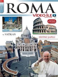 ROMA CON VIDEO. EDIZ. TURCA -