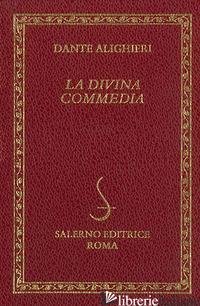 DIVINA COMMEDIA-DIZIONARIO DELLA DIVINA COMMEDIA (LA) - ALIGHIERI DANTE; MALATO E. (CUR.)
