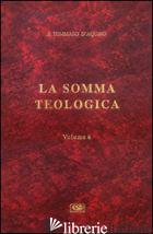 SOMMA TEOLOGICA (LA). VOL. 6: SUPPLEMENTO. QUESTIONI 1-99 E INDICE ANALITICO - TOMMASO D'AQUINO (SAN)
