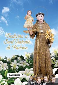 TREDICINA A SANT'ANTONIO DI PADOVA - MANCINI EVIO