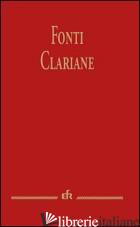 FONTI CLARIANE - BOCCALI G. (CUR.)
