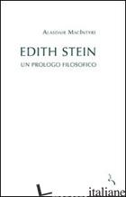 EDITH STEIN. UN PROLOGO FILOSOFICO - MACINTYRE ALASDAIR
